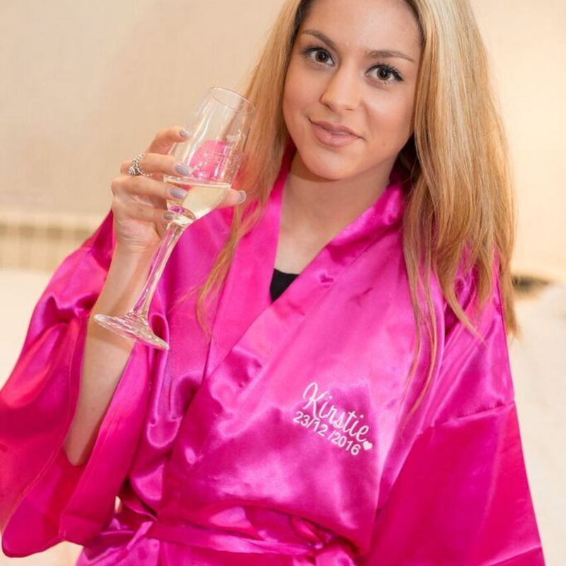 Hot Pink Robe - Lovelei Ltd