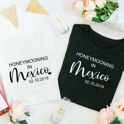 Honeymooning TShirt Tops - Lovelei Ltd