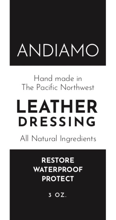 ANDIAMO Leather Dressing 3 oz.