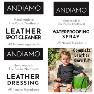 ANDIAMO Complete Leather Care Kit