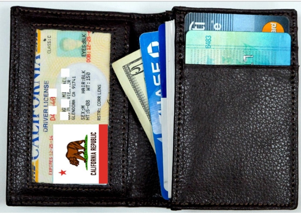 RIFD Leather Wallet