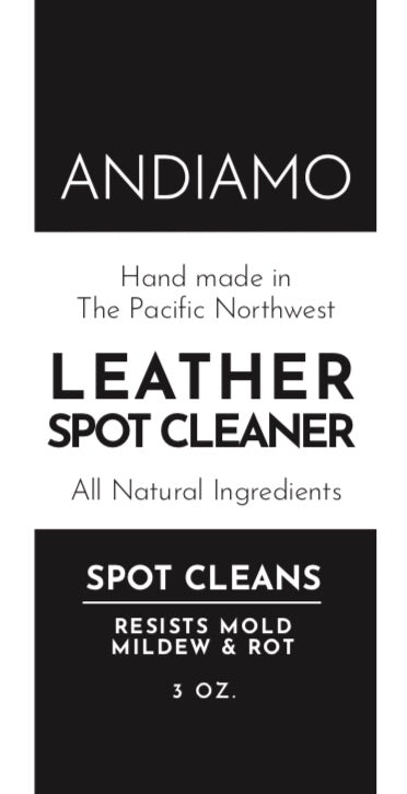 ANDIAMO Leather Spot Cleaner 3 oz.