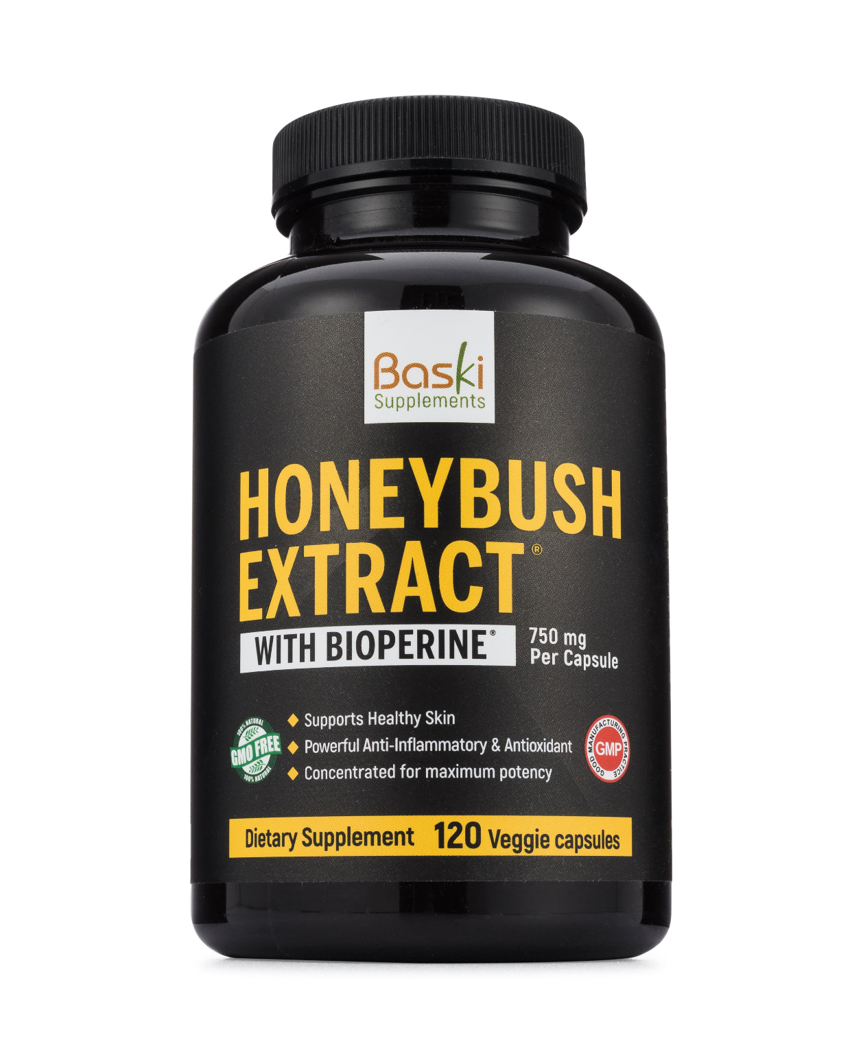 Honeybush Extract supplement for acne, eczema and psoriasis