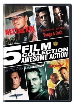Multi-Movie (NEW) 5 Film Collection Awesome Action Set (DVD)