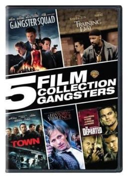 Multi-Movie (NEW) 5 Film Collection Gangsters Set (DVD)