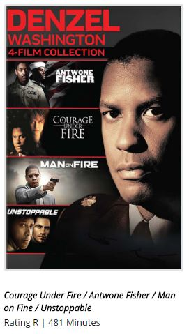 Denzel Washington 4-Film Collection (DVD) Set