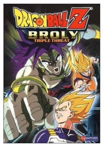 Dragon Ball Z Broly Triple Threat (Japanese) (DVD) Collection Set