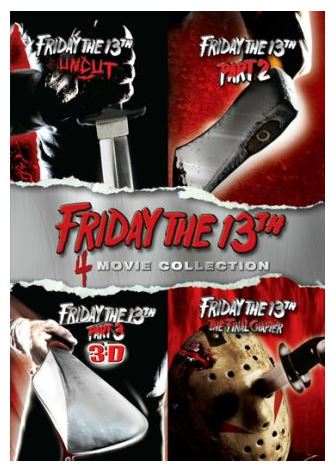 Friday the 13th 4-Movie Collection (DVD) **Brand NEW**