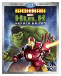 Disney Marvel: Iron Man & Hulk - Heroes United (Blu-Ray and DVD Combo)