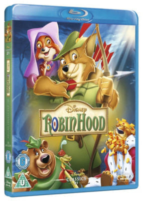 Disney Robin Hood (Blu-Ray and DVD Combo)