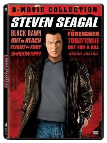 Multi-Movie Steven Seagal 8-Movie Collection (DVD) **Brand New in Plastic**