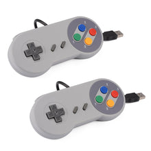 2x extra Snes USB control pads