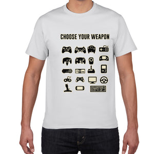 Choose Your Weapon Gamer T shirt