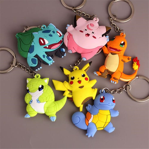 Pokemon Key Rings