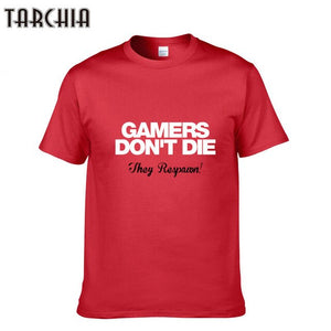 Gamers Dont Die They Respawn T-Shirt