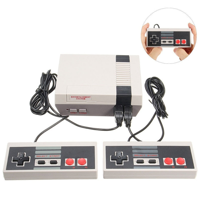 8 Bit Retro Game Console - 620 Games
