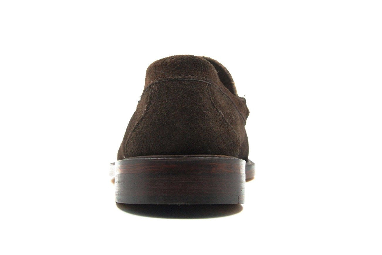 Tassel Loafers, Chocolate Suede