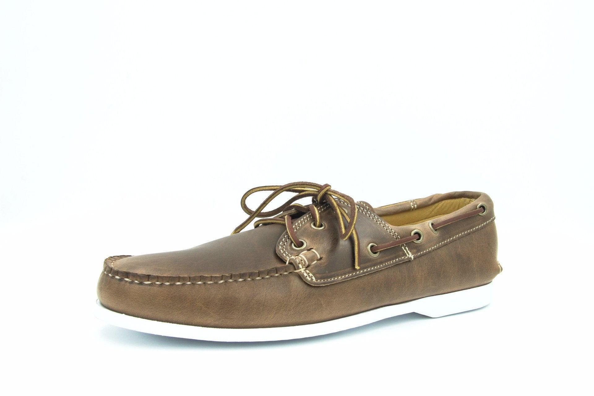 Quoddy Boat Shoes, Chromexcel Natural