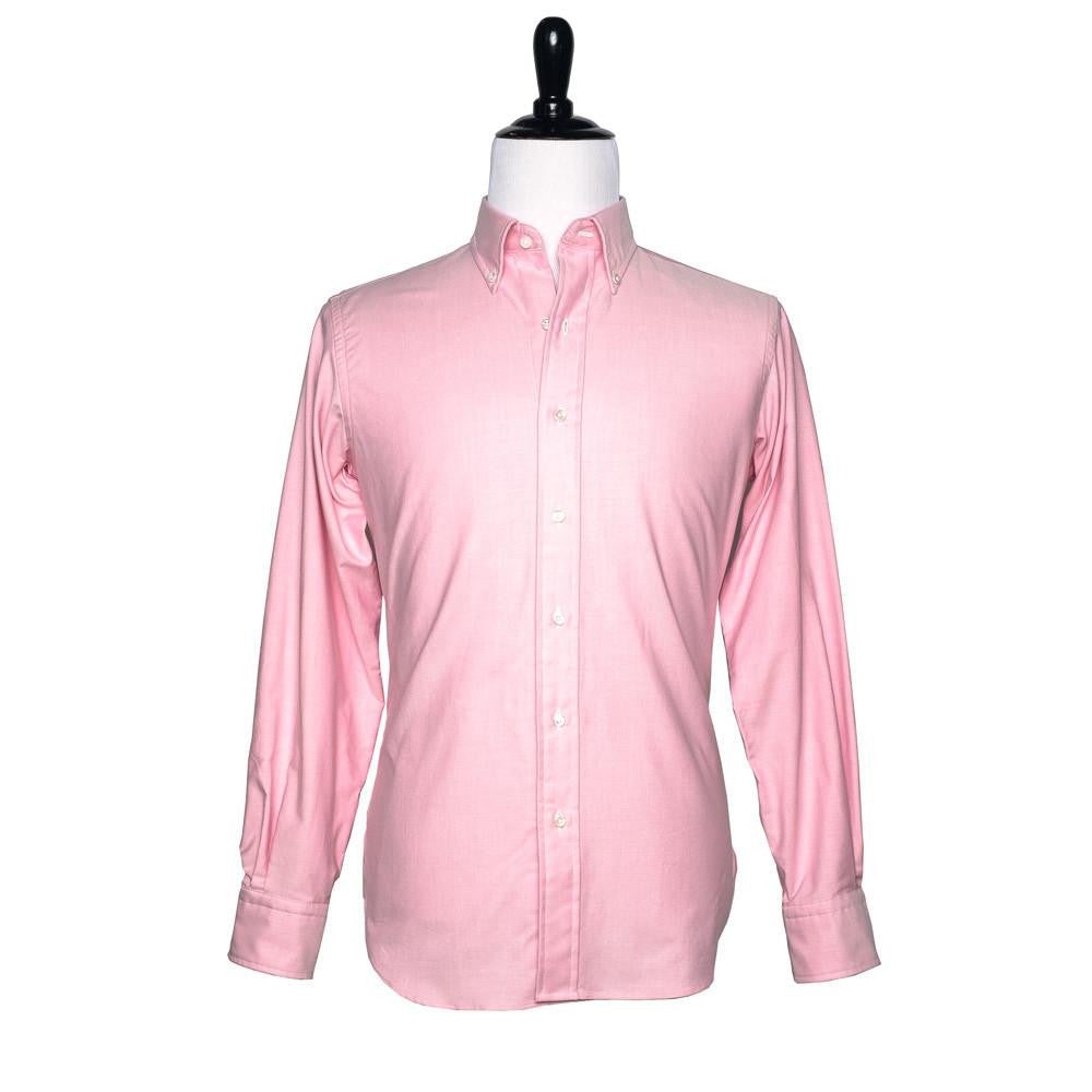 TWEEDS Pink Oxford Button Down