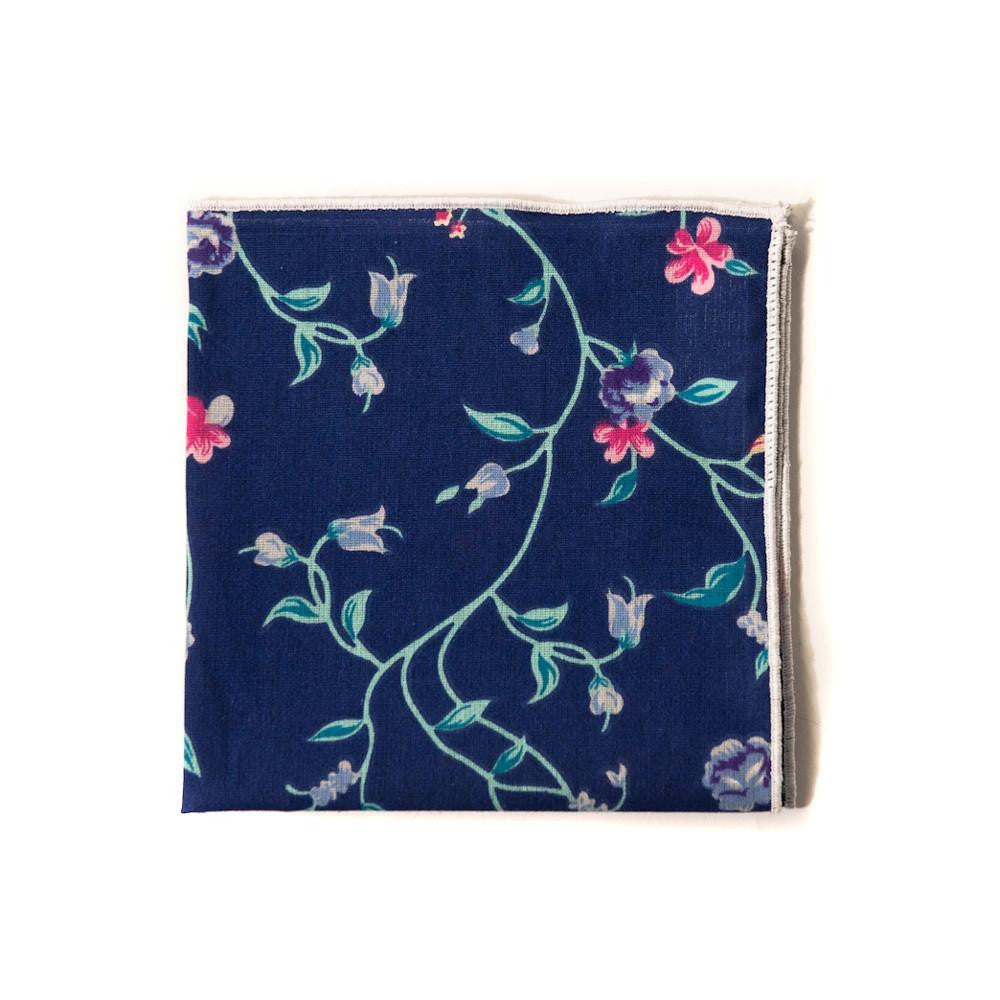 TWEEDS Large Floral Pocket Square