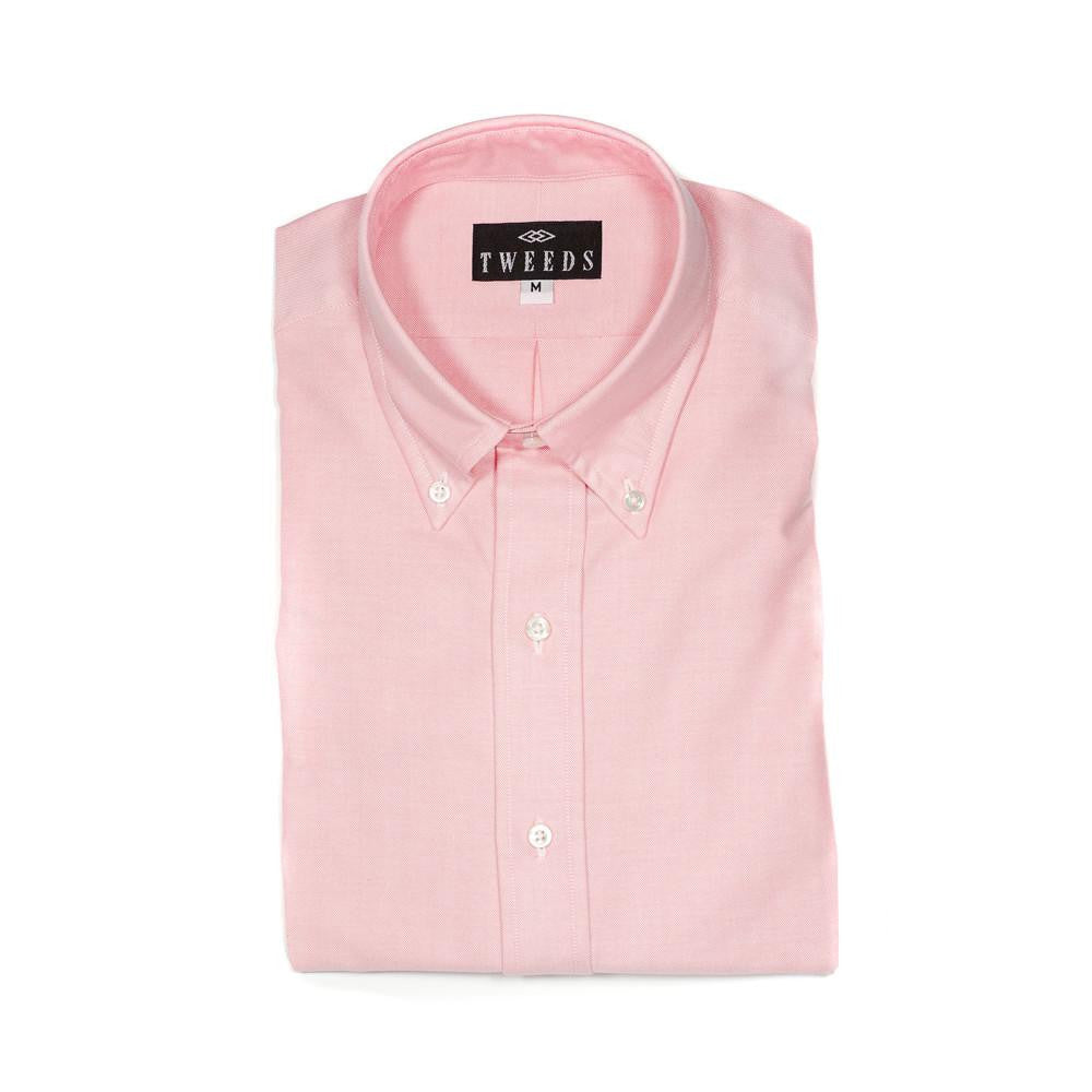 TWEEDS Pink Oxford