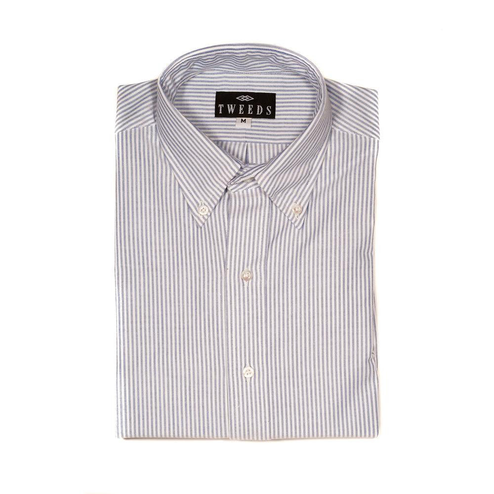 TWEEDS University Stripe Oxford Button Down
