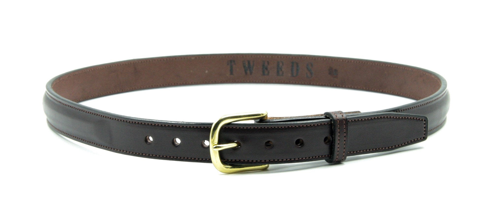 "TWEEDS 1"" Raised Belt, Brown"