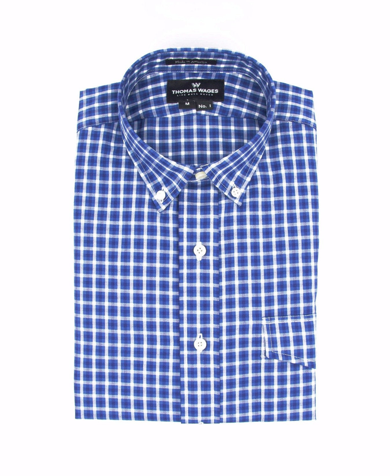 Navy/Royal Check Shirt