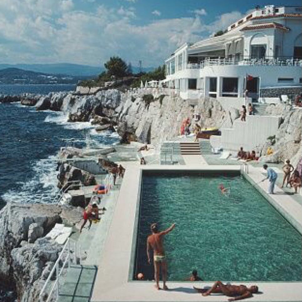 Baiae Obsession: Slim Aarons