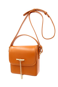 SANCIA | Maeve Mini Bag - Cognac