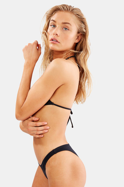 solid & and striped sadie black bottom