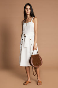 SANCIA Louna Dress White