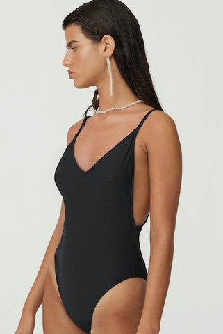 PALOMA WOOL | Lazzaro One Piece Swimsuit - Black