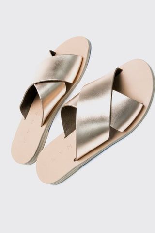 KYMA Chios Sandal in Rose Gold Bronze