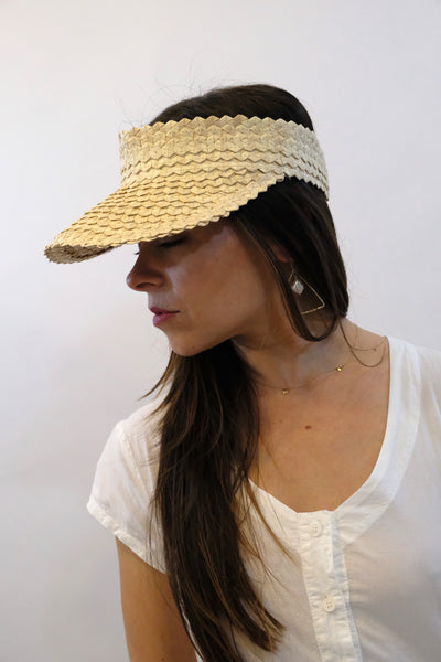 BAIAE | Bali Palm Visor - Natural