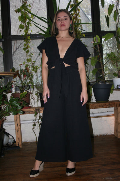 ANAAK Kai Wide Leg Pants Black