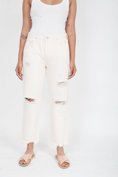 BOYISH Tommy Jeans Rosemary's Baby off-white ripped Wash