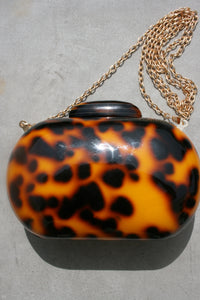 AMBER SCEATS Ora Bag Tortoise Resin