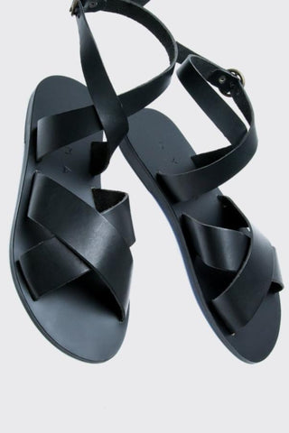 KYMA Patmos Sandal in Black