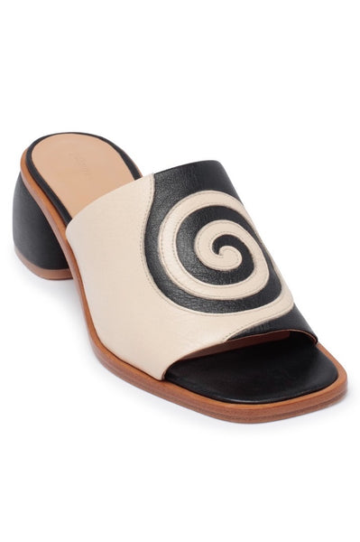 Paloma Wool Tornado Sandal Black and White