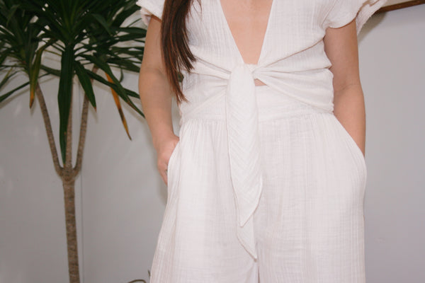 ANAAK | Wrap Top - Off White