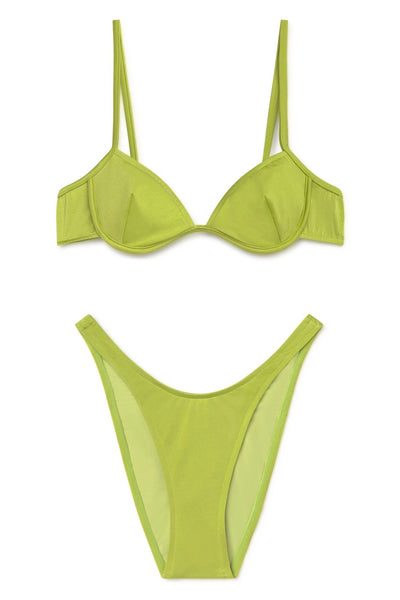 Willy Bikini Top - Avocado