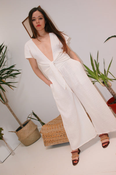 ANAAK | Wide Leg Pants - Off White