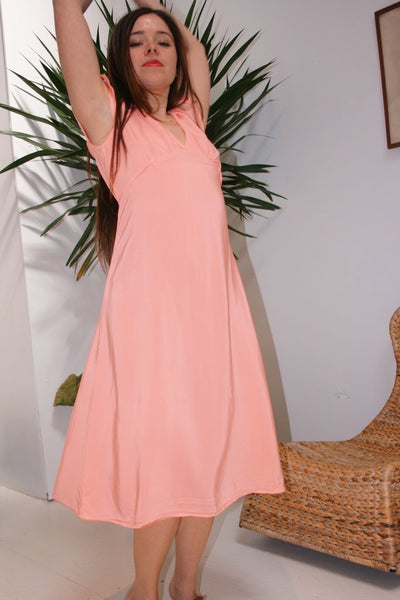 Vivien Dress - Guava