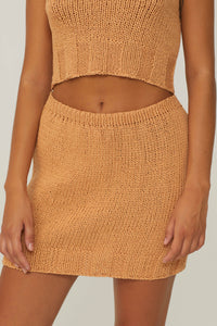 PALOMA WOOL |  Carolina Knit Skirt - Peach