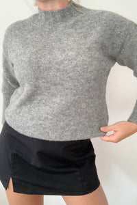 PALOMA WOOL | Rodriguez Alpaca Wool Oversized Sweater - Grey