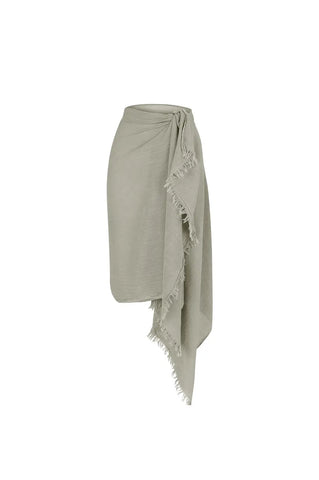 Palapa Pareo Cover up & Scarf - Sand