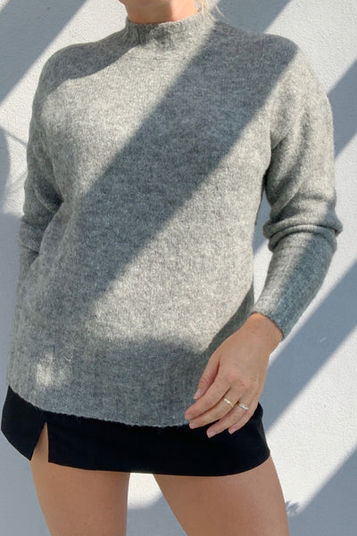 PALOMA WOOL Rodriguez Alpaca Wool Oversized Sweater Grey