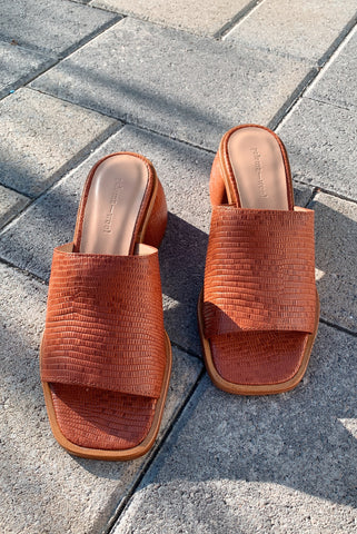PALOMA WOOL | Oslo Sandal - Dark Brandy Brown