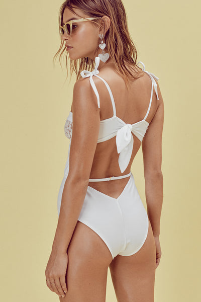 FOR LOVE AND LEMONS Lolita One Piece Ivory Lace